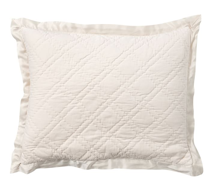 100 Cotton Diamond Quilted Sham Pillow Pillowcases