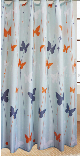 eco friendly non toxic eva colorful printing waterproof anti bacterial shower curtain bathroom. Black Bedroom Furniture Sets. Home Design Ideas