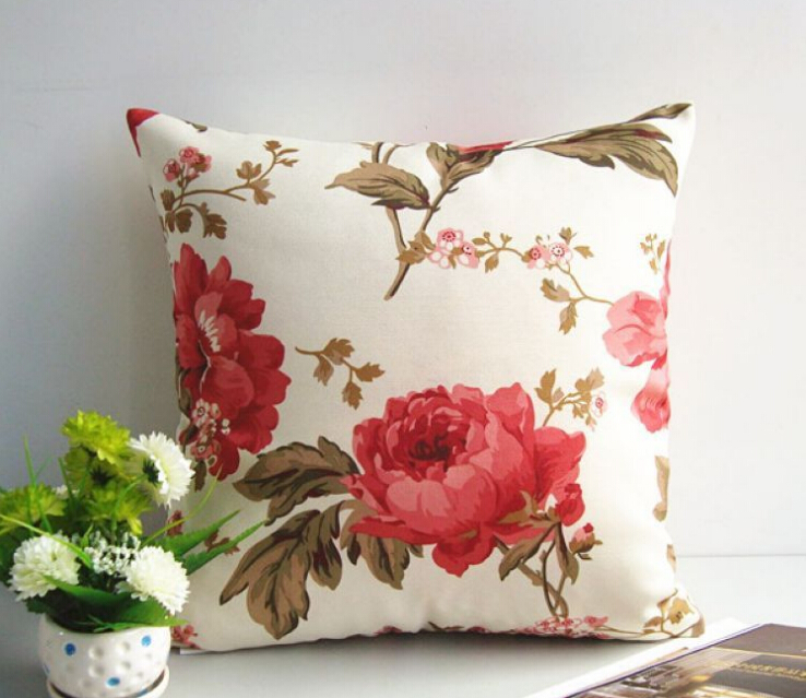 Modern Decorative Floral Pillow Cover Cushion Cover QINGDAO Joli Living CO.,LTD
