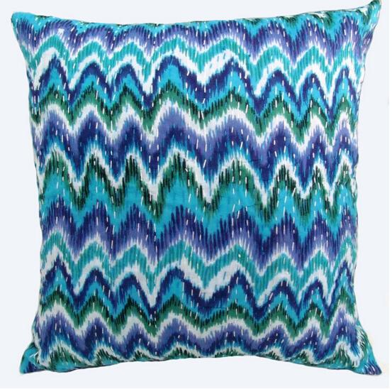 100% polyester Decorative Floral Soft Cushion/ Seat Cushion QINGDAO ...