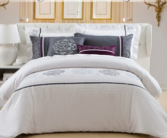 HOTEL QUALITY T400 THREAD COUNT PLAIN DYED 100/% EGYPTIAN COTTON BEDDING LINEN